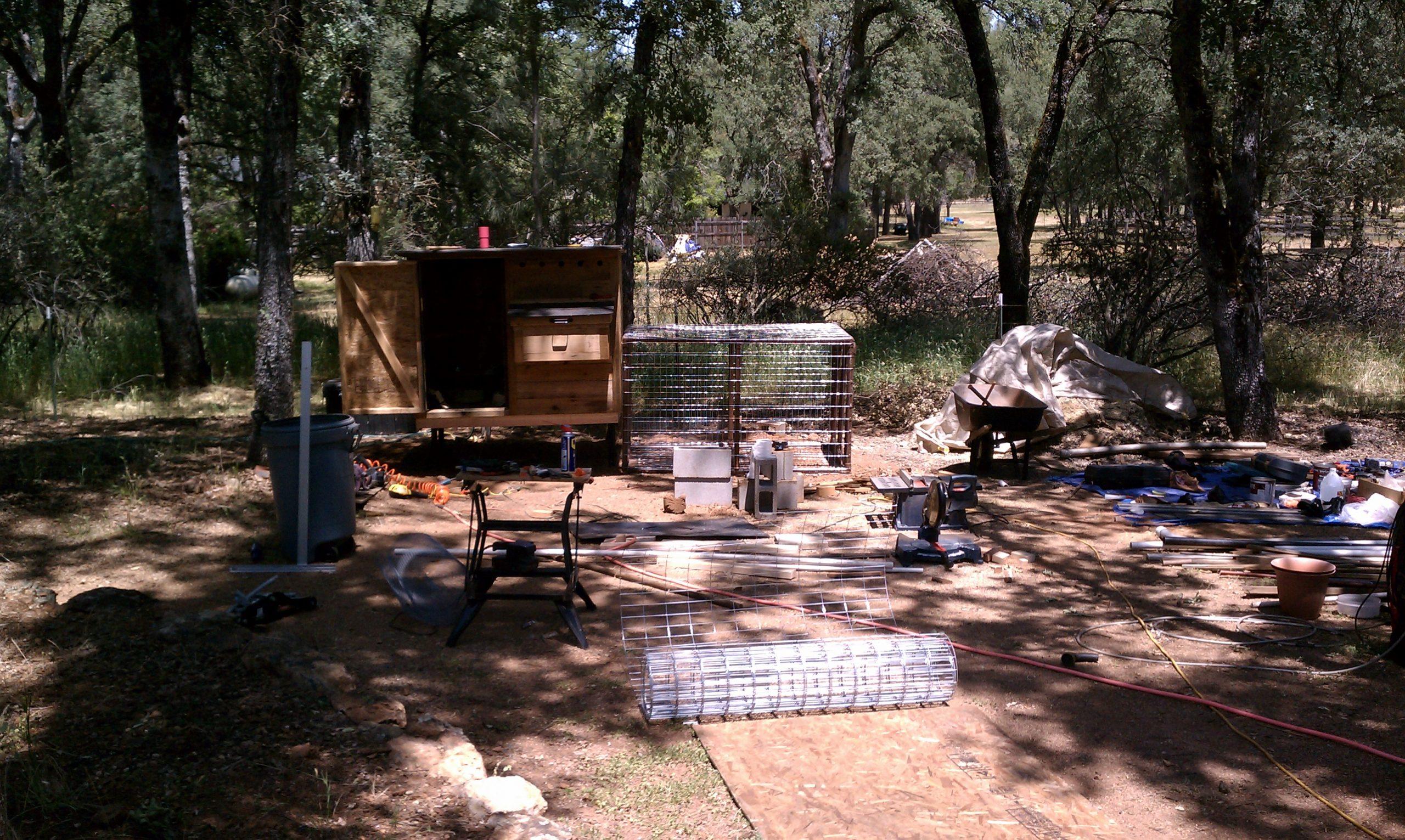 The Chicken Coop Build