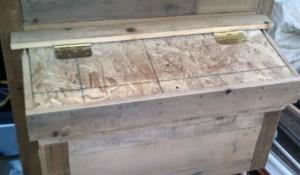 Chicken Coop Nesting Box Door image