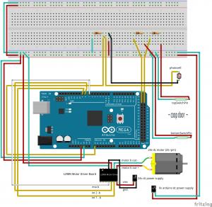 Arduino Automatic Chicken Coop Door Fritzing Wiring Diagram