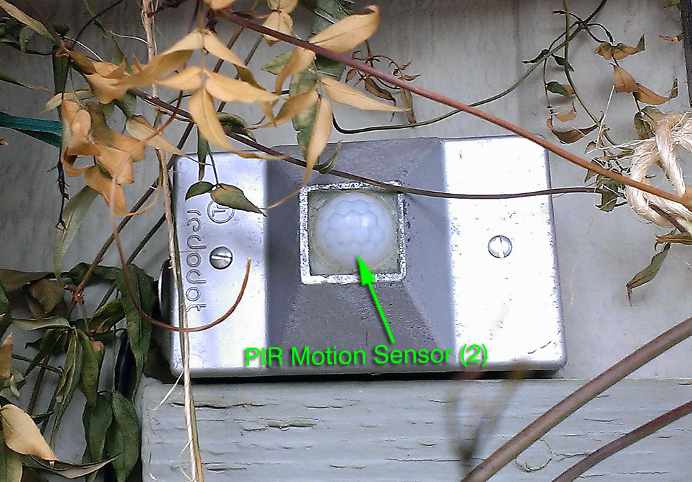 Predator PIR #2 - Motion Detector Alarm & Deterrent for Chickens