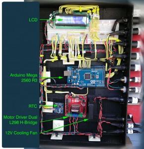 Arduino Chicken Coop Controller (labelled)