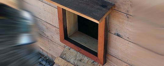 Arduino Automatic Chicken Coop Door