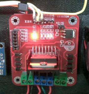 L298N Motor Controller for Automatic Chicken Coop Door