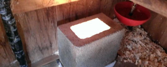 The Chicken Coop Heater(s)