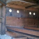 Chicken Coop Interior Vents (rear)
