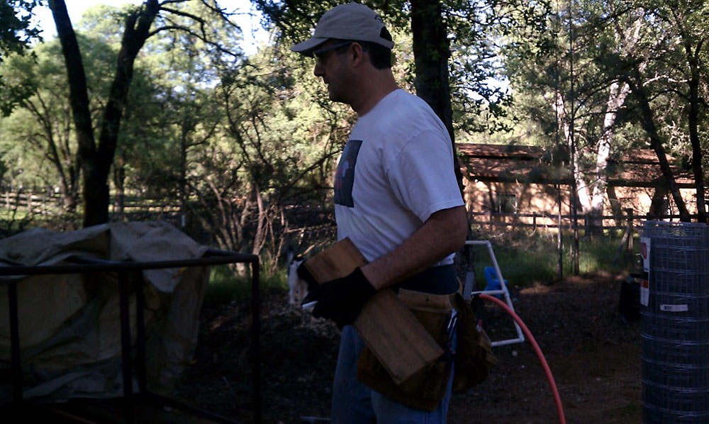 Dave Naves - Chicken Coop Construction image