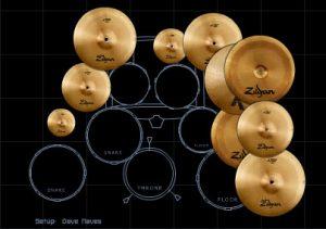 Dave Naves Drum Kit
